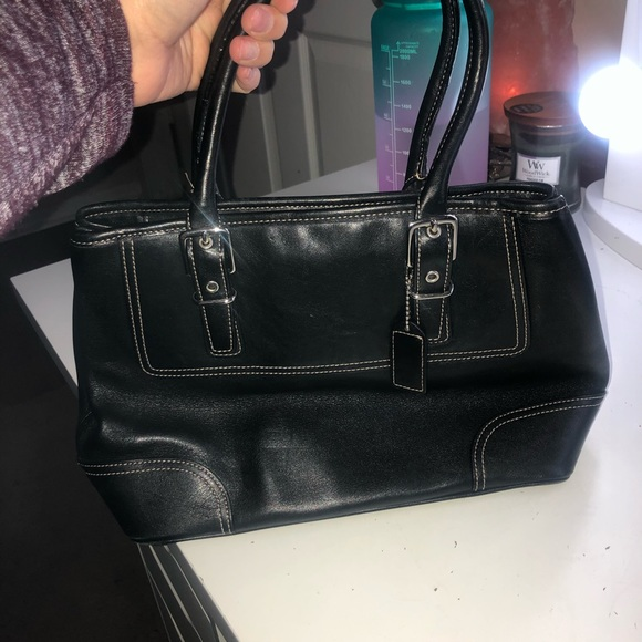 Coach Handbags - Small Coach Black Bag